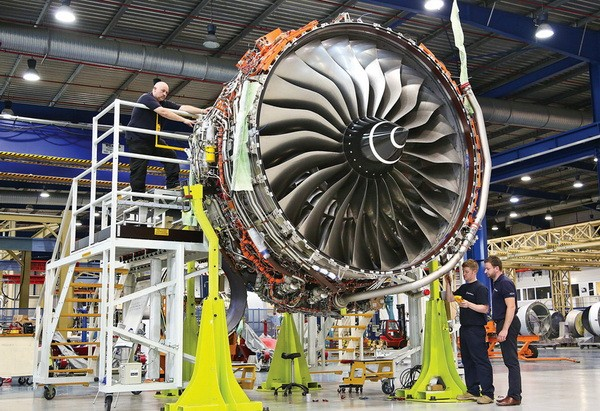 rolls-royce-trent-engine-3D-printed-parts