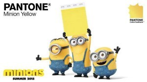 Minion Yellow: an official new Pantone color