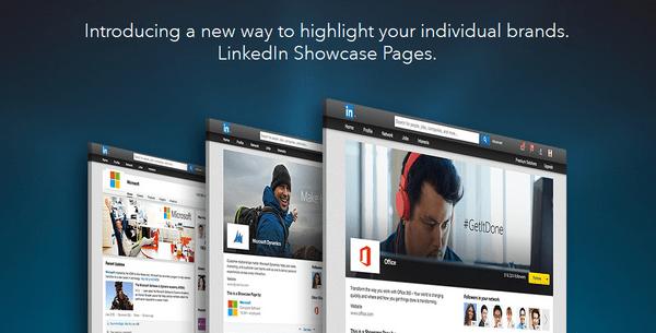 LinkedIn Showpages