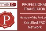 Olesya Zaytseva: Certified Translator