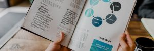 Olesya Zaytseva. Marketing materials for tech businesses